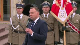Wręczenie nominacji generalskich przez Andrzeja Dudę | OnetNews