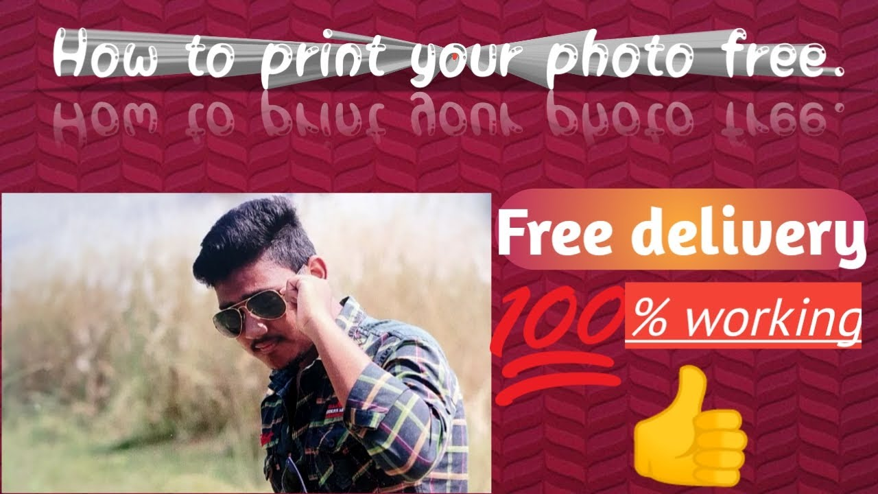 Best android app for free photo print.👍 image
