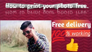 Best android app for free photo print.👍