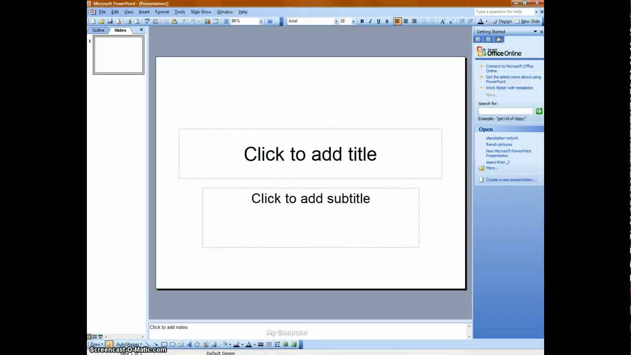 How To Add A Video To Powerpoint 2003