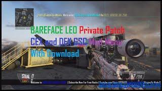ps3 bo2 1 19 cex dex bareface leo private patch gsc mod menu download