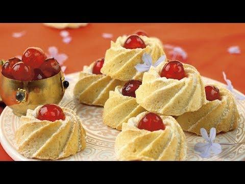 20/ Cherry shortbread - In english - CUISINE LIH LIH