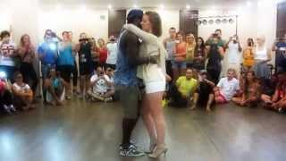 Видео: AFRO LATINA SEVILLA DANCE 2014- Enah Lebon @Alice