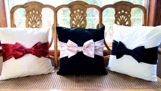 One of Allison Anderson's most viewed videos: DIY Bow Pillows! ❄ Christmas Countdown