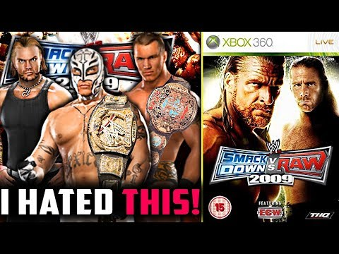I HATED This WWE Game As A KID!   WWE SvR 2009
