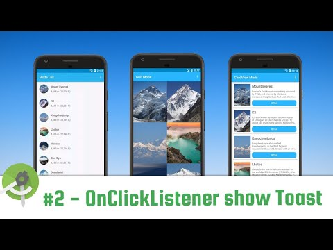 complete-recyclerview-part-2---click-listener-show-toast-in-recyclerview---android-studio-tutorial