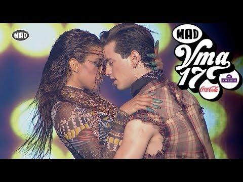 Βαγγέλης Κακουριώτης & Ειρήνη Παπαδοπούλου LIVE @ Mad VMA 2017 by Coca-Cola & Aussie