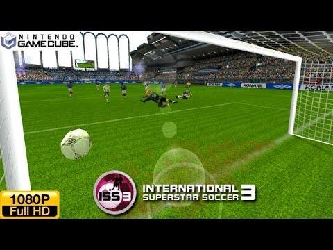International Superstar Soccer 3 - Gamecube Gameplay 1080p (Dolphin GC/Wii Emulator)