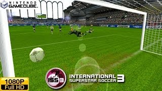 International Superstar Soccer 3 - Gamecube Gameplay 1080p (Dolphin GC/Wii Emulator)