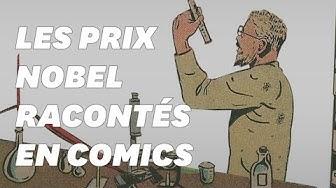 Les prix Nobel racontés en comics