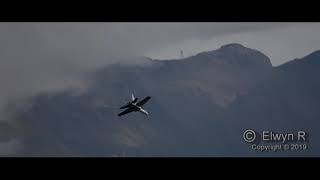 F/A-18  in the Stunning Alps!!   Breitling Sion Airshow
