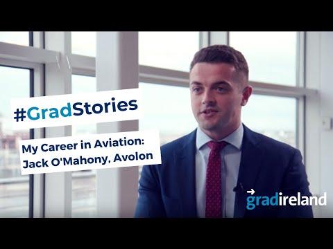 My Career in Aviation: Jack O'Mahony, Business Analyst, Avolon