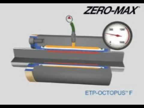 Zero-Max ETP Octopus F for bores from 10mm to 100mm
