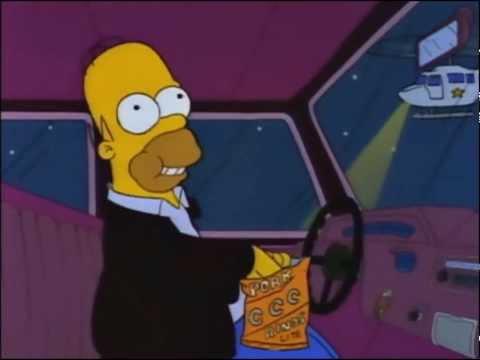I Simpson ita (ITA) Homer canta la canzone della Piccola pulcettin