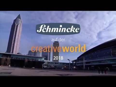 Schmincke auf der Creative World 2018 - Impressionen einer Messe