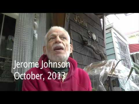 Jerome Johnson at His Center for Alternative Energy in Brooklyn, New York October 2013