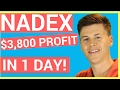 NADEX $3800 Profit Trading Trump's Speech 📈