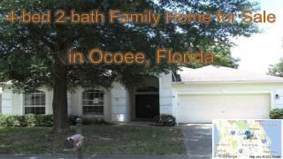 4-bed 2-bath Family Home for Sale in Ocoee, Florida on florida-magic.com