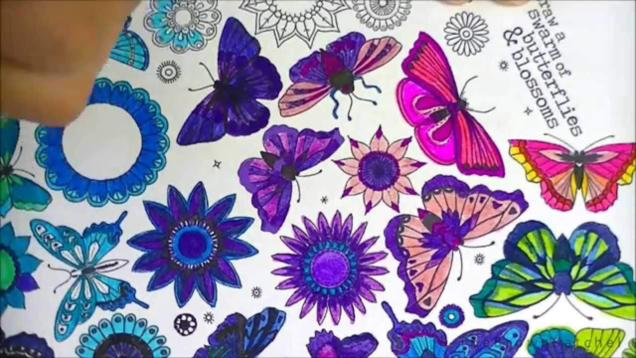 secret garden coloring page youtube