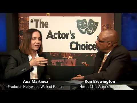 The Actor's Choice - Ana Martinez 5-21-2018