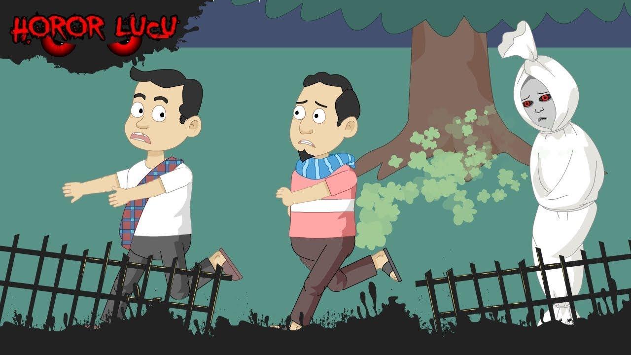 Gara Gara Coklat Pocong Menyerah Mulkidi Kentut Funny Cartoon Horor Lucu Episode 12