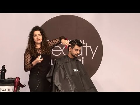 Demo of Wahl by hair expert Renee Melek