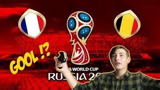 FIFA 18 - FRANCIE VS BELGIE/ JAK TO DOPADNE ?