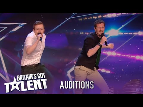 Improv Comedy Group Create A Hit Ant & Dec Tune! ROFL!| Britain's Got Talent 2020