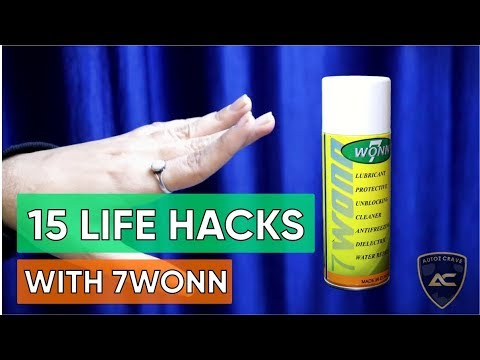 15 Life Hacks With 7WONN (RUST REMOVER)  Vs wd-40