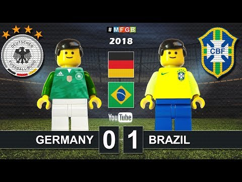 Germany vs Brazil 0-1 • Friendly match 2018 (27/03) Alemania Brasil Goals Highlights Lego Football