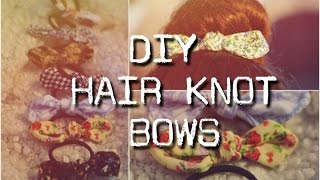 DIY- Hair Knot Bows [HD] Thumbnail