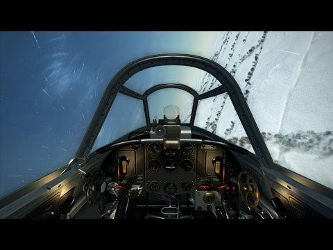 IL-2 Sturmovik: Battle of Stalingrad 60fps Yak-1 gameplay