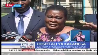 Maafisa wa DCI wafika Hospitali ya Kakamega kuanza uchunguzi kuhusiana na mapacha