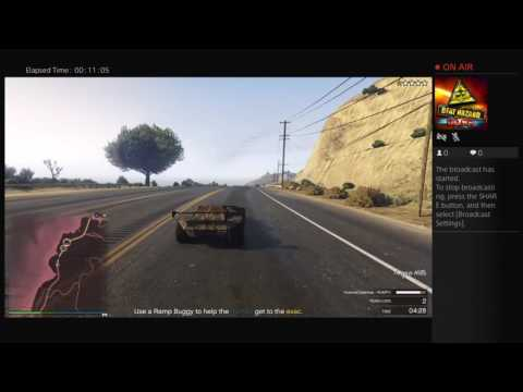 Jake Meoff's Live PS4 Broadcast Newest update GTA5online
