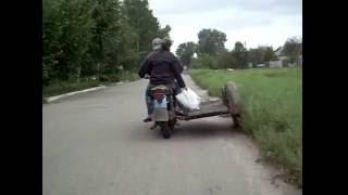 Перевернул мотор-колесо проводом слева, лучше тяга, меньше жрет(, 2016-08-26T11:48:19.000Z)