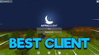 BEST CLIENT FOR MCPE! (Minecraft Bedrock)