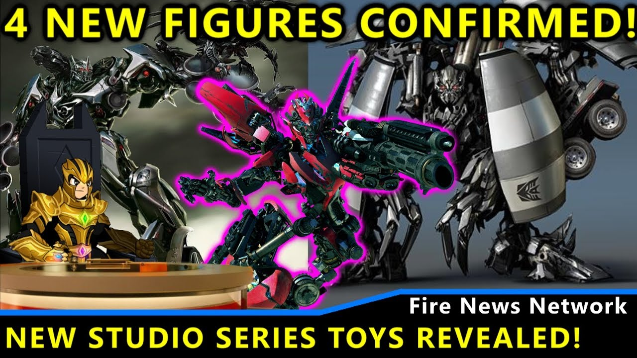 4 New Transformers Studio Series Toys Revealed! - Transformers San Diego  Comic Con 2019