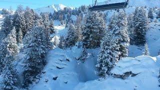Ла Плань Парадиски Франция La Plagne Paradiski(Отдых на французском горнолыжном курорте Лез Арк 1950. Ски-сафари в Ла Плань. Посещение Спа-центра Лез Арка 1950., 2014-12-21T13:19:33.000Z)