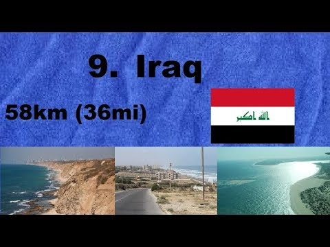 Top 10 Countries With The Shortest Coastline