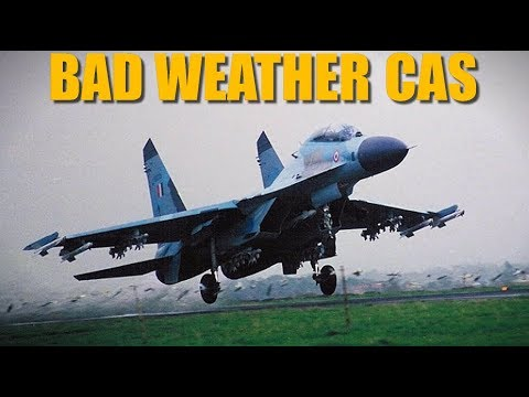 Reapers Bad Weather CAS Ground Attack Training