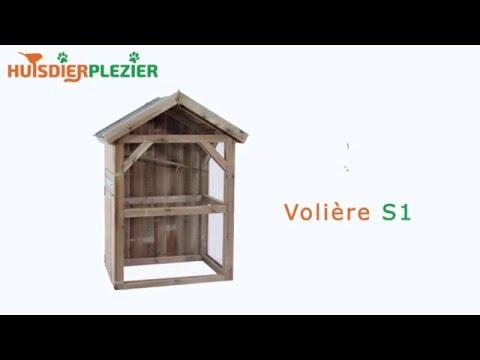 Huisdierplezier.nl | Volière S1 | Volière bouwen