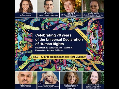Celebrating 70 years of the Universal Declaration of Human Rights at USC