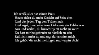 Fard feat Bobby V - Zu Spät / Remember when Lyrics ♥