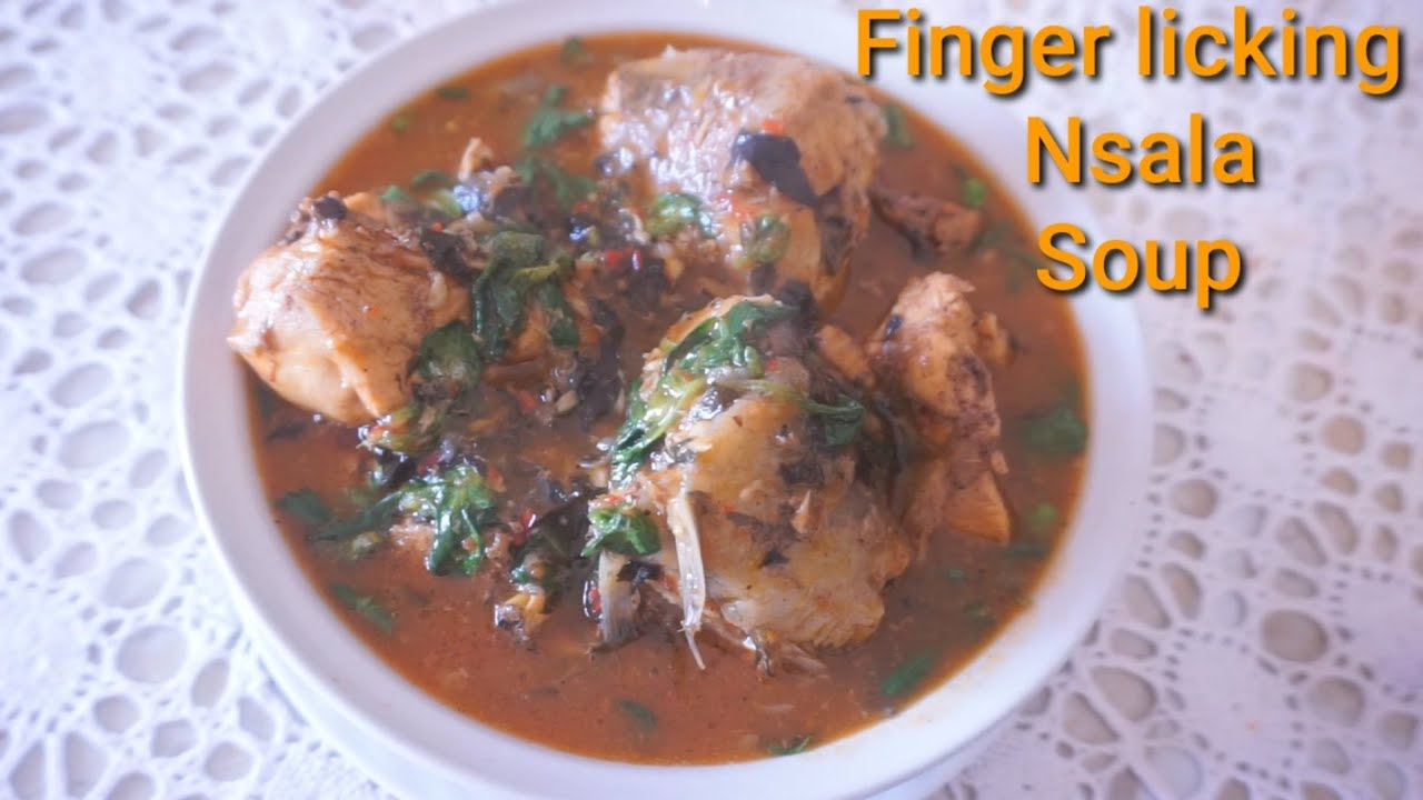 Download Cook With Me Delicious Omugwu Soup  Nsala/White Soup