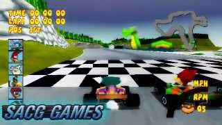 Woody Woodpecker Racing - Loch Ness with Space Mouse