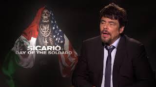 Benicio Del Toro On Reprising Character for SICARIO: DAY OF THE SOLDADO