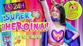 24 HORAS siendo SUPER HEROINA - WONDER LARA