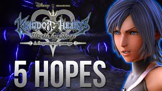 Top 5 Hopes For Kingdom Hearts 0.2 Birth By Sleep