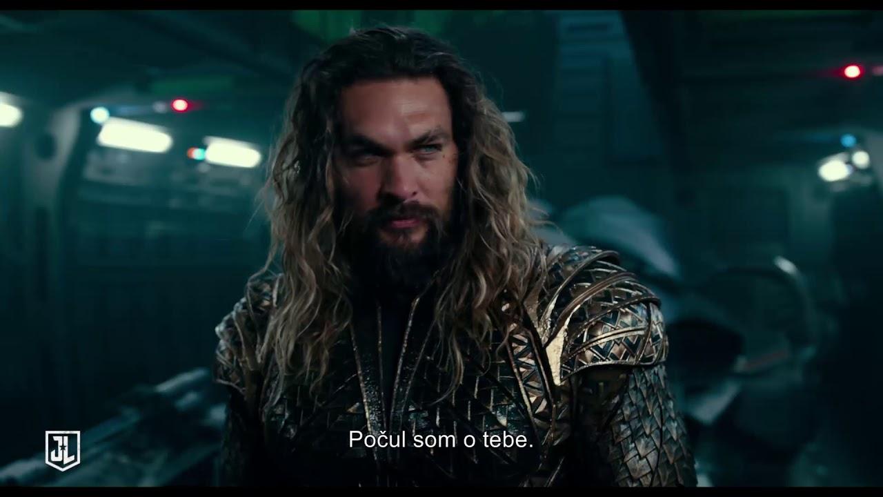 JUSTICE LEAGUE - V kinách od 16.novembra 2017 - trailer (Aquaman)