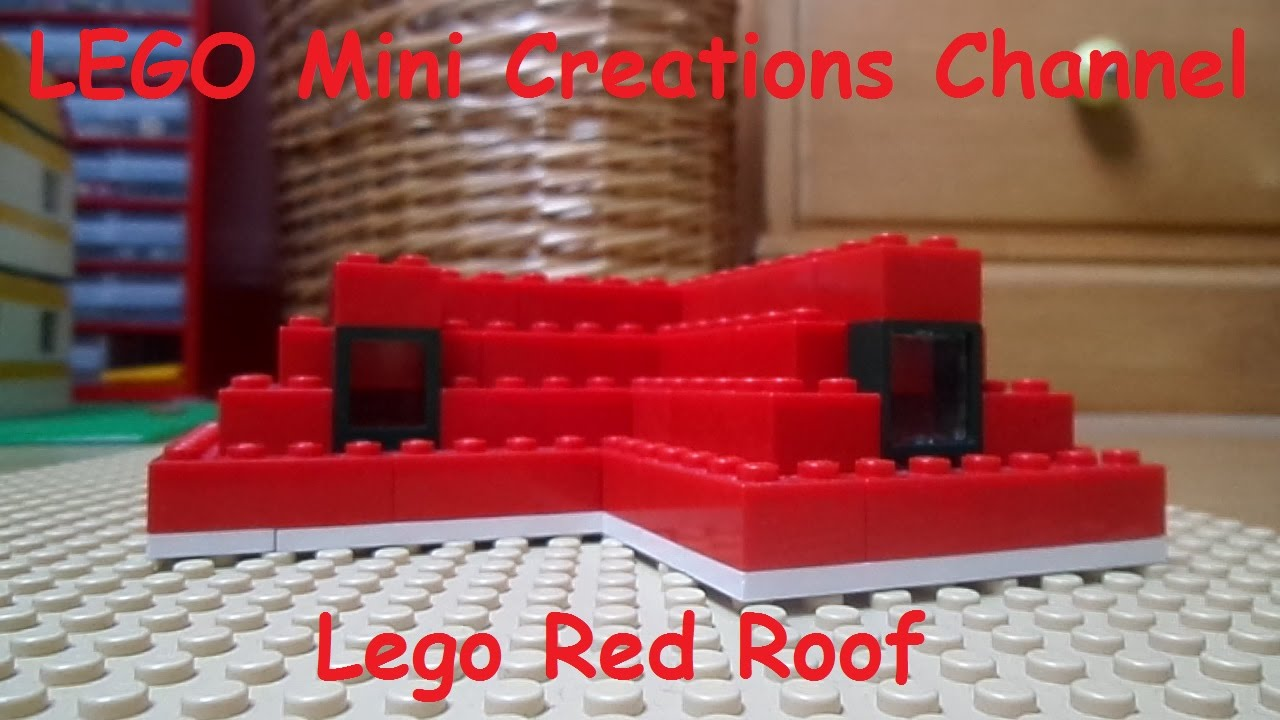 Tutorial How To Make A Lego Roof Lego Home Serie Youtube
